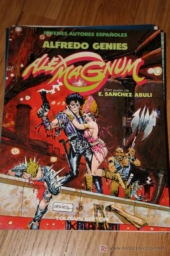 ALEX MAGNUM. ALFREDO GENIES (Tebeos y Comics - Toutain - Otros)