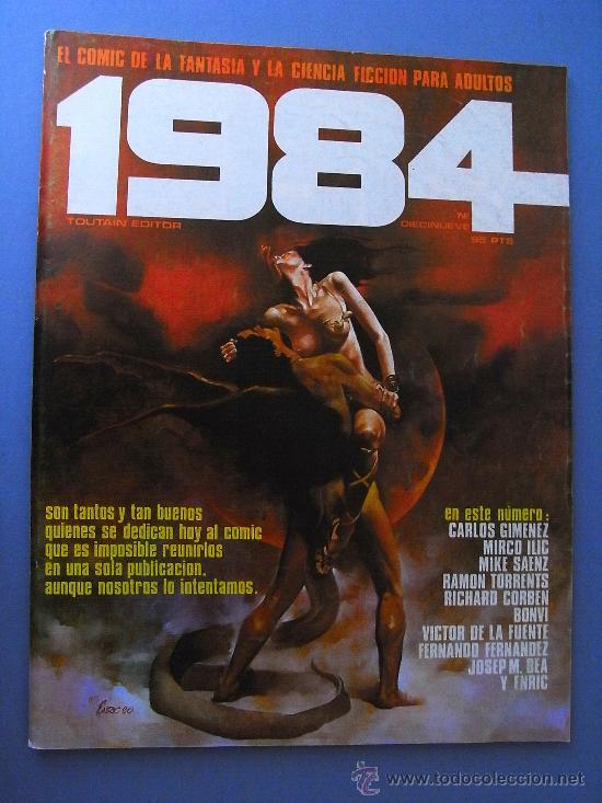 1984 NÚMERO 19, TOUTAIN EDITOR. (Tebeos y Comics - Toutain - 1984)