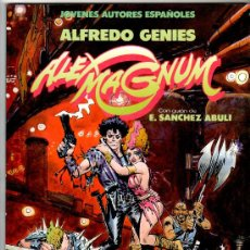 Cómics: ALEX MAGNUM, TOUTAIN 1986, E. SANCHEZ ABULI, ALFREDO GENIES, EXCELENTE ESTADO. Lote 24963939