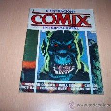 Cómics: ILUSTRACION + COMIX INTERNACIONAL Nº 1 - 1980. Lote 25568645