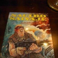 Comics - Nacido salvaje, Fernando de Felipe, Oscaraibar, Toutain Editor, 1989 - 14335086
