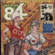 Cómics: ZONA 84. CONTIENE LOS EJEMPLARES 74, 75 Y 76.. Lote 23994921