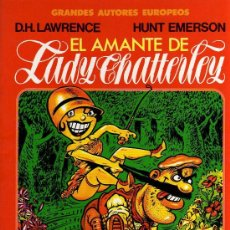Cómics: EL AMANTE DE LADY CHATTERLEY - LAWRENCE / EMERSON - TOUTAIN 1987. Lote 17126827