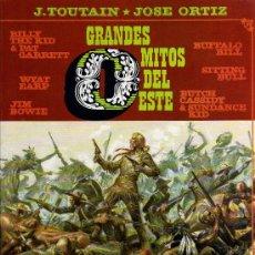 Cómics: GRANDES MITOS DEL OESTE 2 - TOUTAIN / ORTIZ - TOUTAIN 1987. Lote 17067965