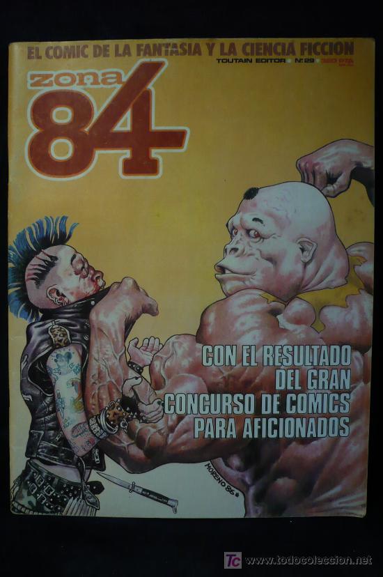 ZONA 84 Nº 29 (Tebeos y Comics - Toutain - Zona 84)