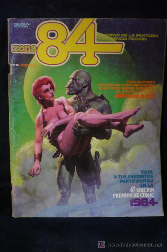ZONA 84 Nº 6 (Tebeos y Comics - Toutain - Zona 84)