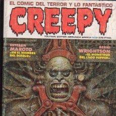 Cómics: CREEPY 2ª SERIE Nº 8 ( TERROR ) - EDITA : TOUTAIN. Lote 21726944