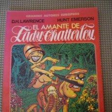 Cómics: EL AMANTE DE LADY CHATTERLEY. COLECCIÓN GRANDES AUTORES EUROPEOS 7. TOUTAIN EDITOR.. Lote 26287906