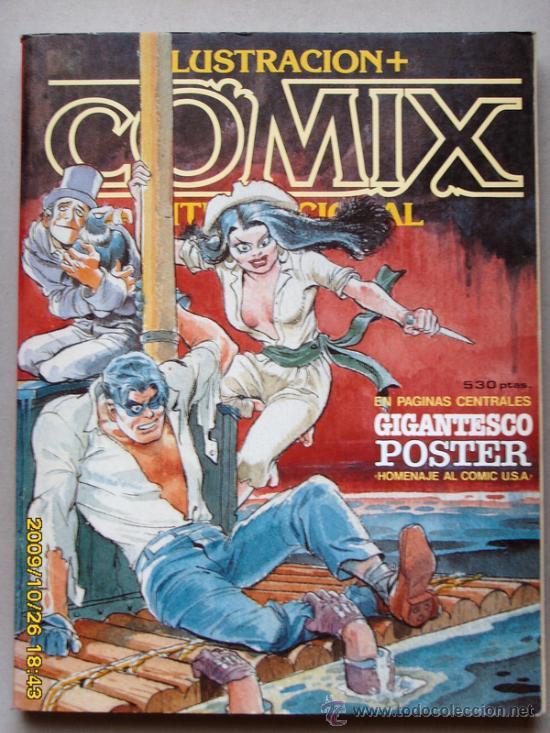 COMIX - ILUSTRACION INTERNACIONAL (Tebeos y Comics - Toutain - Comix Internacional)
