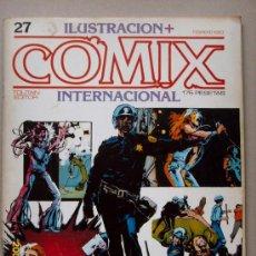 Cómics: COMIX - ILUSTRACION INTERNACIONAL. Lote 26146899