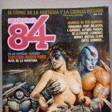 Cómics: ZONA 84- EL COMIC DE LA FANTASÍA Y LA CIENCIA FICCIÓN. Lote 27088876