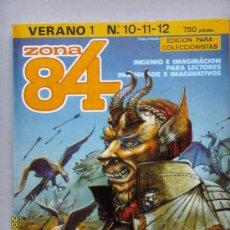 Cómics: ZONA 84- EL COMIC DE LA FANTASÍA Y LA CIENCIA FICCIÓN. Lote 26726660