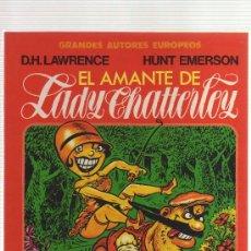 Cómics: EL AMANTE DE LADY CHATTERLEY (TOUTAIN EDITOR) - CJ49. Lote 26929025