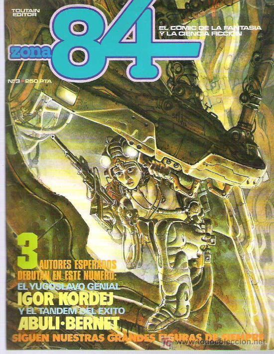 ZONA 84 - TOUTAIN EDITOR Nº 3 1984 (Tebeos y Comics - Toutain - Zona 84)