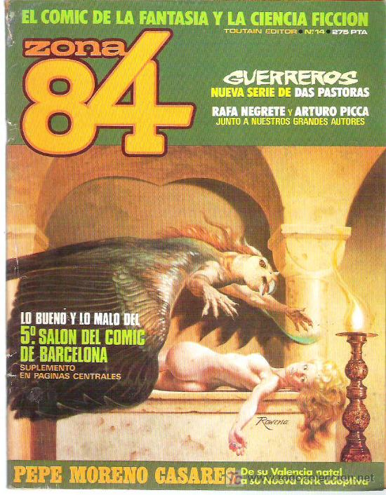 ZONA 84 - TOUTAIN EDITOR Nº 14 1985 (Tebeos y Comics - Toutain - Zona 84)