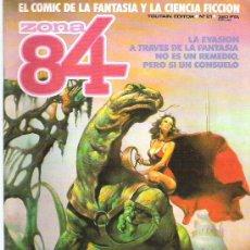 Cómics: ZONA 84 - TOUTAIN EDITOR Nº 21 1985. Lote 16740643