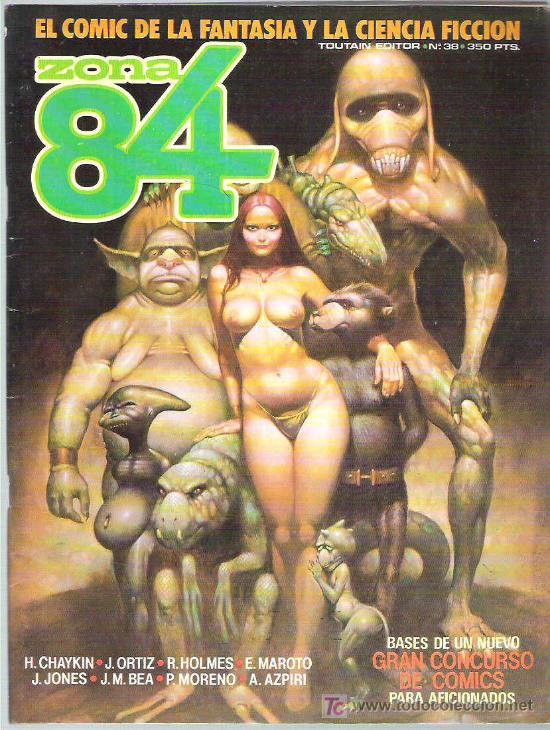 ZONA 84 - TOUTAIN EDITOR Nº 38 1986 (Tebeos y Comics - Toutain - Zona 84)