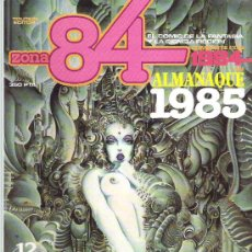 Cómics: ZONA 84 COMPARTE CON 1984 TOUTAIN EDITOR * ALMANAQUE 1985. Lote 19137415