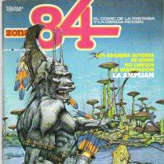 Cómics: ZONA 84 - TOUTAIN EDITOR Nº 4 1984. Lote 16742075