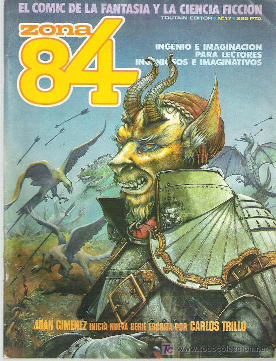 ZONA 84 - TOUTAIN EDITOR Nº 17 1985 (Tebeos y Comics - Toutain - Zona 84)