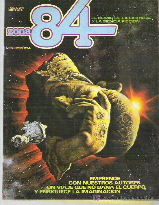 ZONA 84 - TOUTAIN EDITOR Nº 5 1984 (Tebeos y Comics - Toutain - Zona 84)