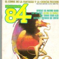 Fumetti: ZONA 84 - TOUTAIN EDITOR Nº 16 1985. Lote 19340464
