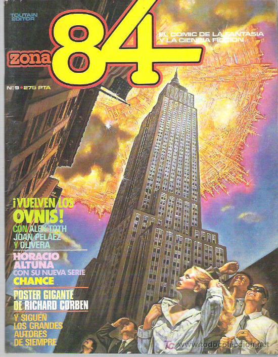 ZONA 84 - TOUTAIN EDITOR Nº 9 1984 (Tebeos y Comics - Toutain - Zona 84)