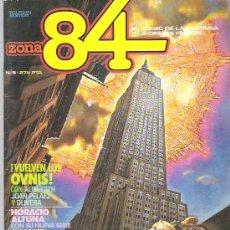 Cómics: ZONA 84 - TOUTAIN EDITOR Nº 9 1984. Lote 16742224