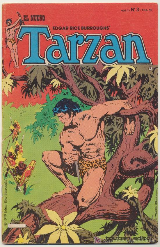 EL NUEVO TARZÁN VOL. 1 Nº 3. TOUTAIN 1979. (Tebeos y Comics - Toutain - Otros)