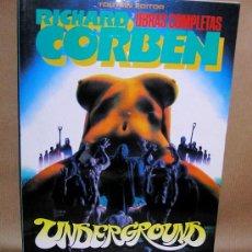 Cómics: RICHARD CORBEN - UNDERGROUND - TOUTAIN - NUEVO (PRECINTADO) - OBRAS COMPLETAS 3. Lote 44370095