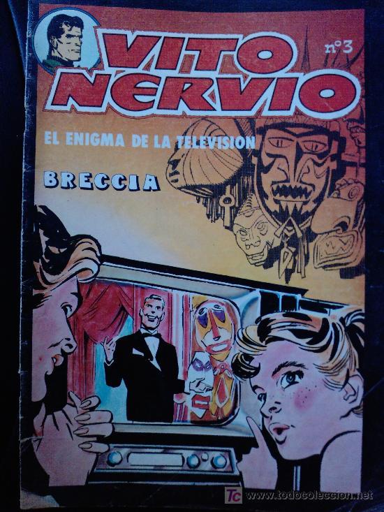 VITO NERVIO Nº3 , BRECCIA, EL ENIGMA DE LA TELEVISION (Tebeos y Comics - Toutain - Obras Completas)