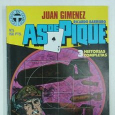Cómics: AS DE PIQUE. Nº 5. 3 HISTORIAS COMPLETAS. (TOUTAIN EDITOR). . Lote 17741465