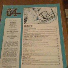 Cómics: 'ZONA 84'. 1984. TERROR, FANTASÍA Y CI-FI. SIN PORTADA.. Lote 17781522