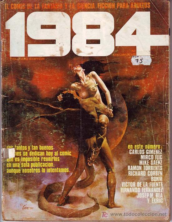 1984 Nº 19 ED .TOUTAIN (Tebeos y Comics - Toutain - 1984)
