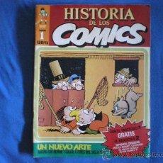 Cómics: HISTORIA DE LOS COMICS Nº 1 TOUTAIN UN NUEVO ARTE D1. Lote 22584405