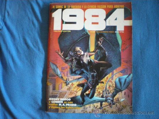 1984 Nº 58 TOUTAIN CORBEN PRADO ALTUNA AURALEON 1983 D1 (Tebeos y Comics - Toutain - 1984)
