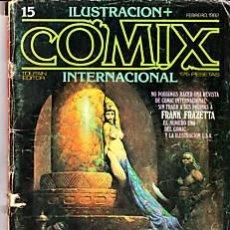 Cómics: CÓMIC ILUSTRACIÓN + COMIX INTERNACIONAL Nº 15 ED.TOUTAIN. Lote 27614624