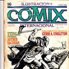 Cómics: CÓMIC ILUSTRACIÓN + COMIX INTERNACIONAL Nº 16 ED.TOUTAIN. Lote 27614625