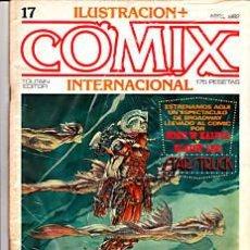 Cómics: CÓMIC ILUSTRACIÓN + COMIX INTERNACIONAL Nº 17 ED.TOUTAIN EXCLT.. Lote 27614626