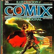Cómics: CÓMIC ILUSTRACIÓN + COMIX INTERNACIONAL Nº 36 ED.TOUTAIN.. Lote 27614627
