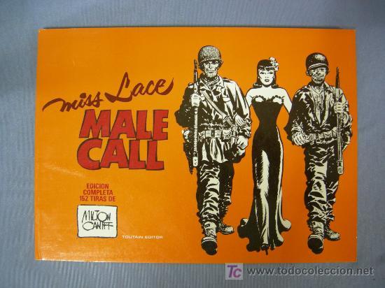 COMICS MALE CALL MISS LANCE, TOUTAIN EDITOR1982 (Tebeos y Comics - Toutain - Otros)