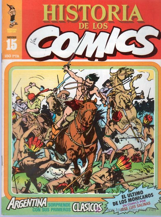 HISTORIA DE LOS COMICS. TOUTAIN EDITOR. FASCICULO 15. (Tebeos y Comics - Toutain - Otros)