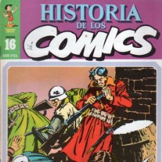 Cómics: HISTORIA DE LOS COMICS. TOUTAIN EDITOR. FASCICULO 16.. Lote 20481212