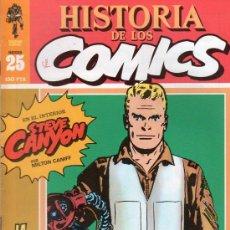 Cómics: HISTORIA DE LOS COMICS. TOUTAIN EDITOR. FASCICULO 25.. Lote 20481276