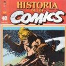 Cómics: HISTORIA DE LOS COMICS. TOUTAIN EDITOR. FASCICULO 40.. Lote 20481480