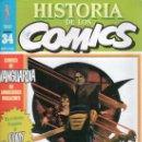 Cómics: HISTORIA DE LOS COMICS. TOUTAIN EDITOR. FASCICULO 34.. Lote 20481552
