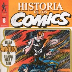 Cómics: HISTORIA DE LOS COMICS. TOUTAIN EDITOR. FASCICULO 6.. Lote 20481577