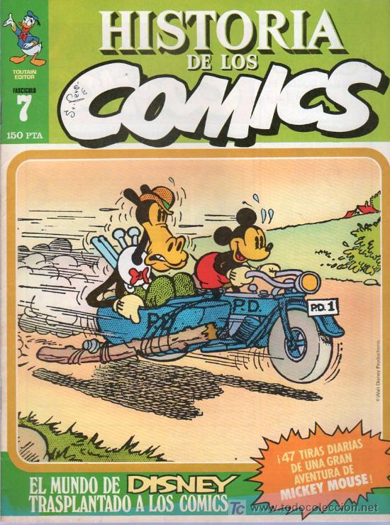 HISTORIA DE LOS COMICS. TOUTAIN EDITOR. FASCICULO 7. (Tebeos y Comics - Toutain - Otros)