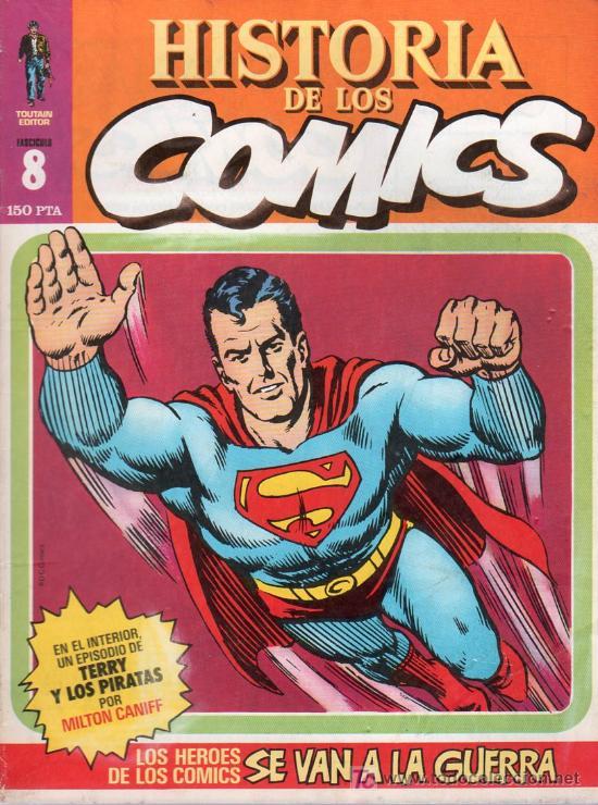 HISTORIA DE LOS COMICS. TOUTAIN EDITOR. FASCICULO 8. (Tebeos y Comics - Toutain - Otros)