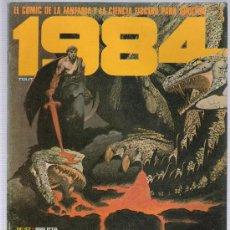 Cómics: 1984. TOUTAIN 1ª EDICIÓN.1978. LOTE DE 13 EJEMPLARES ENTRE EL 47 Y 63.. Lote 20556425